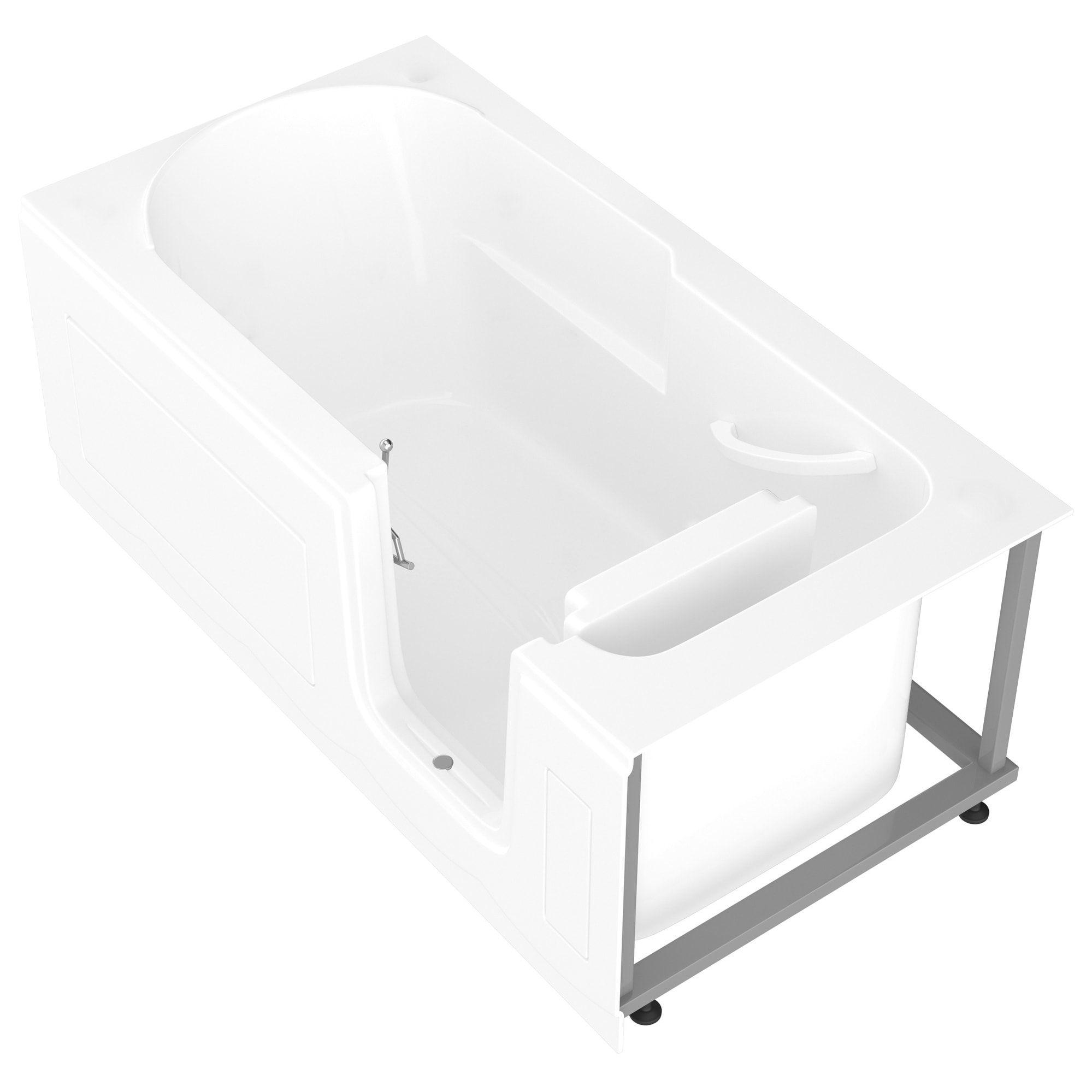 Meditub Step In 30x60 Inch Right Drain White Soaking Step In Bathtub 30x60 Inch Soaker Tub White Right Bathtub Whirlpool Bathtub Tub