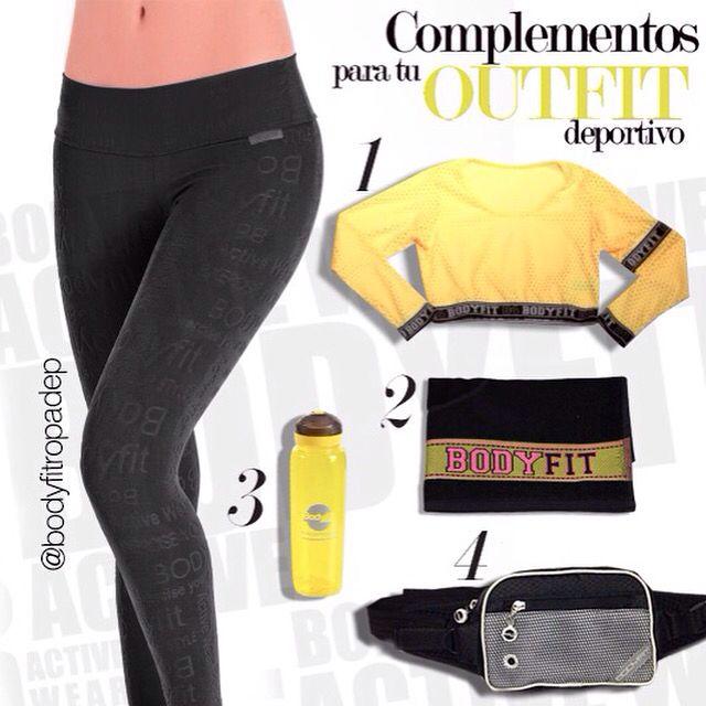 Complementos para tu #OutfitBodyFit #BeOriginal #FitnessMotivation #ExerciseYourStyle