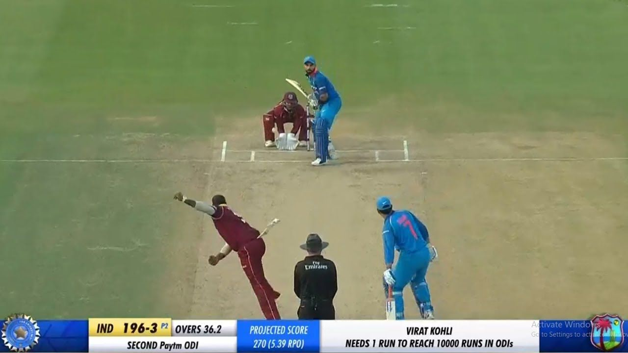 Virat Kohli The Fastest Batsman to Score 10000 Runs in ODI