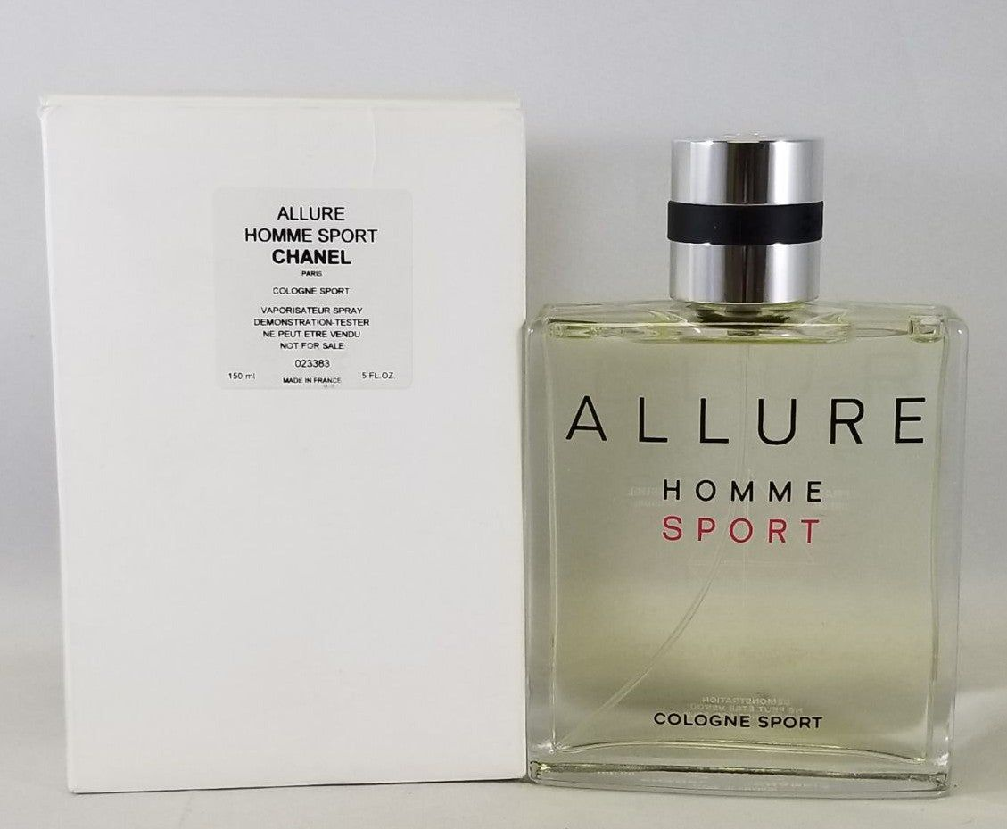 Chanel Allure Homme Sport 150ml 5.Oz Tester Box with cap