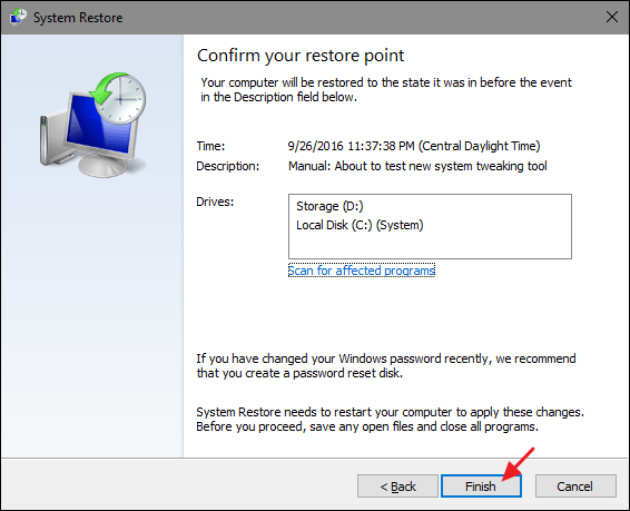 How to Use System Restore in Windows 7, 8, and 10 #windowssystem