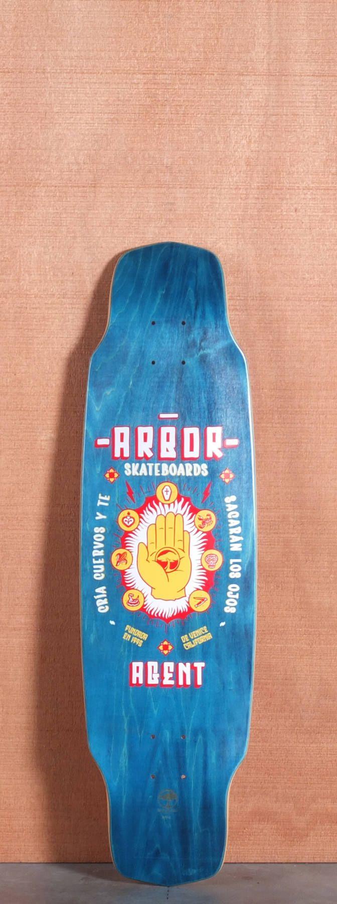 "Arbor 35"" Agent Longboard Deck"