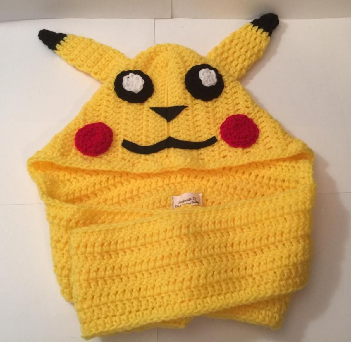 Pikachu - Pokemon Scoodie - Child Size | Free patterns | Pinterest ...