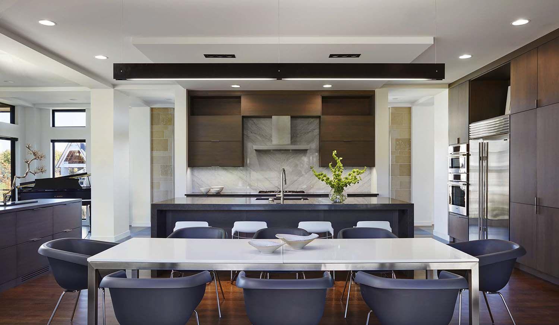 Küchenideen stein modern home displays sophisticated interior styling in south dakota