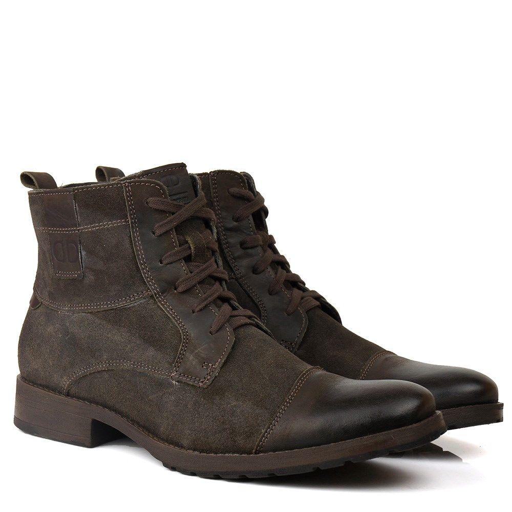 e9f3312c0 Bota Masculina Democrata Stroke Café - BlackBoots   boots in 2019 ...