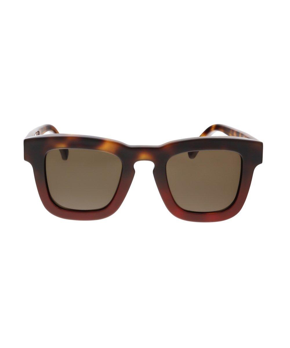 9fb97188c47 Salvatore Ferragamo Sf771 S 207 Havana Red Square Sunglasses ...