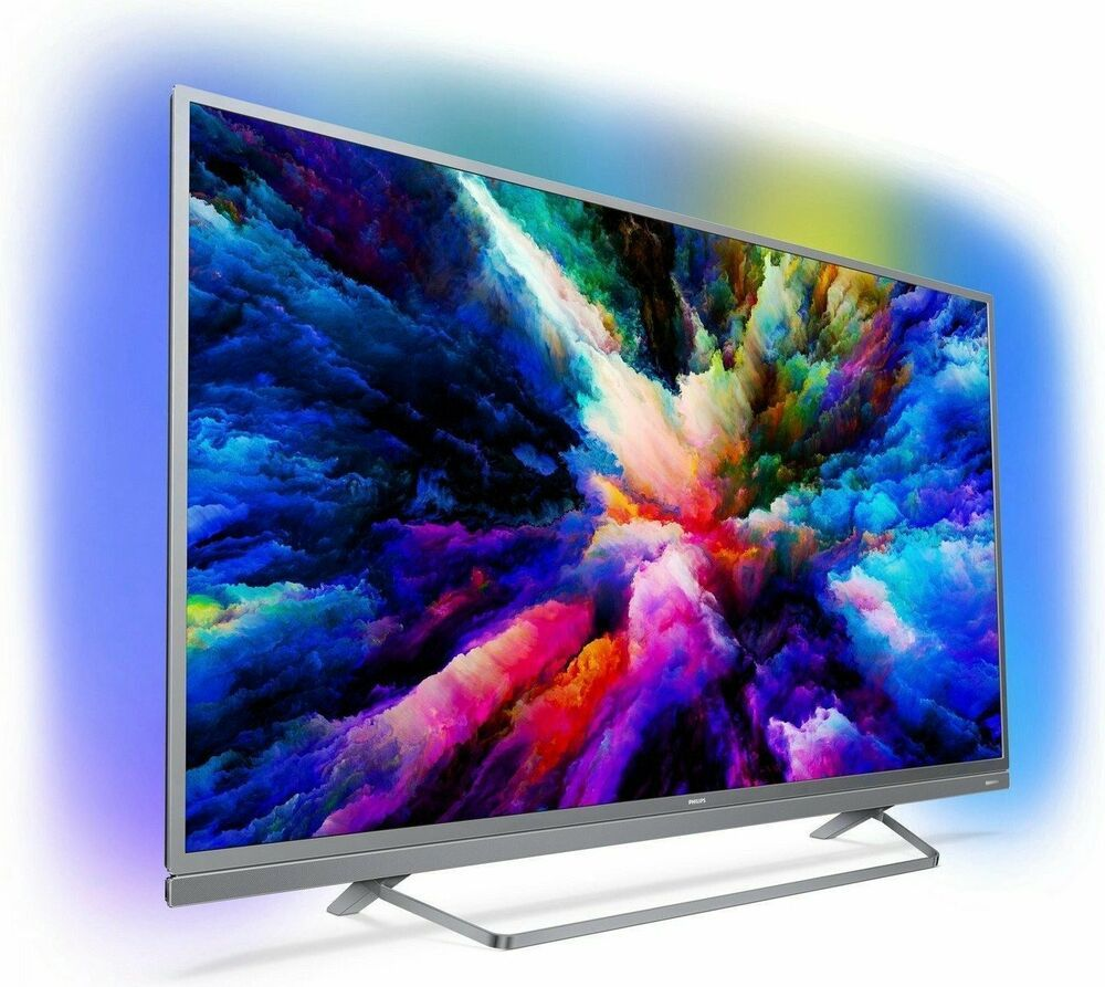 Ebay Led Tv Philips 55pus7503 12 Led Tv 55 Zoll 4k Uhd Triple Tuner Smarttv Ambilight B Ware Eek A Led Tv With Images Smart Tv Led Tv Philips