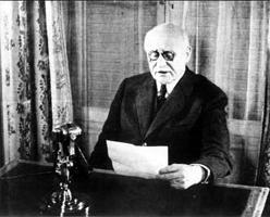 Mardi 17 juin 2014 - Discours du Maréchal Pétain, le 17 juin 1940.