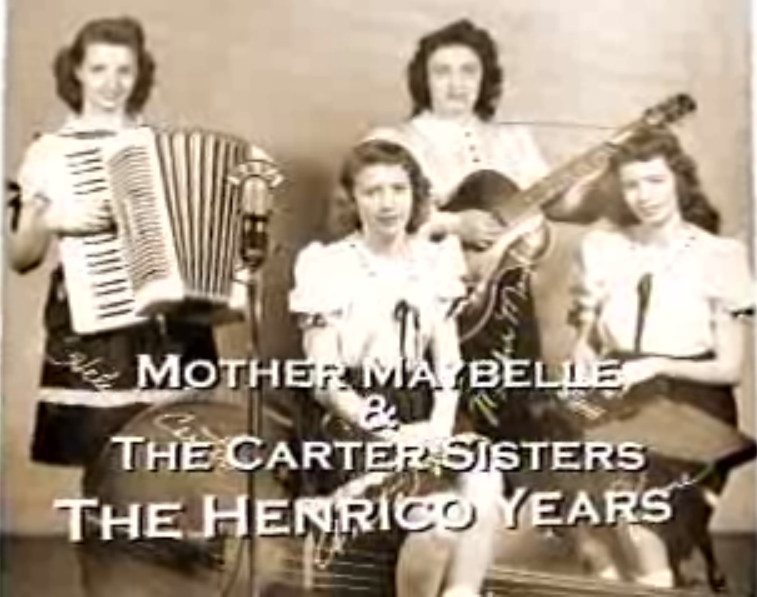 Mother Maybelle and The Carter Sisters: The Henrico Years - The lilting music of the Carter family sprang from the hills of Southwest Virginia, but it flowered in Henrico County. For about six years during the 1940s, Maybelle Carter and her young daughters – Helen, June and Anita – set roots in Central Virginia. In 1946, they landed a spot with Richmond's biggest station – WRVA. The family moved to Henrico in 1947. Join HCTV as we talk to former Henrico friends, classmates and fans.