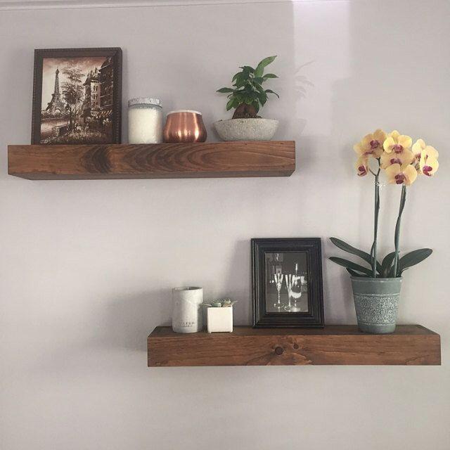 Floating Shelves - Modern Shelf - Shelving - Shelf - Wall Shelves - Rustic  Home Decor - Chunky Shelves - Shelves - Bathroom Shelf