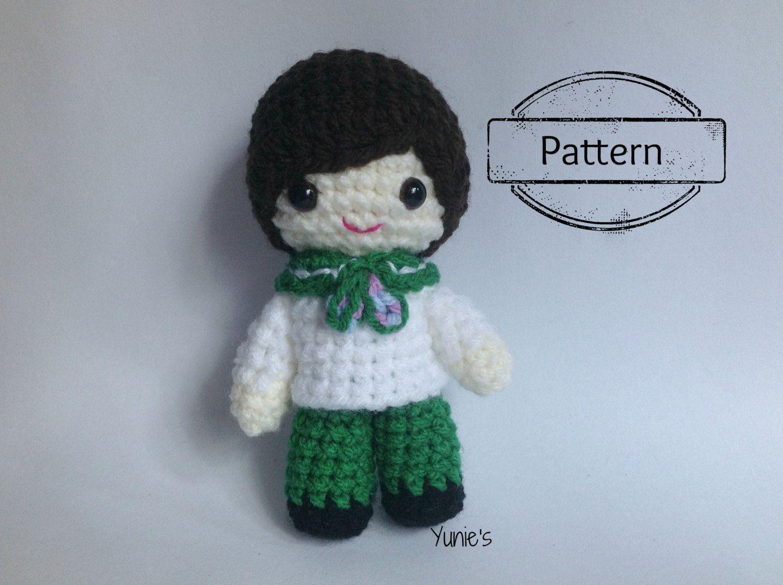 Amigurumi Boy Doll Pattern : Amigurumi boy doll: pattern zombie boy crochet pattern amigurumi