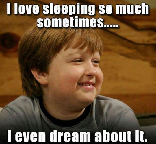 Funny Sleepy Meme : I love sleeping humor funny pictures and images