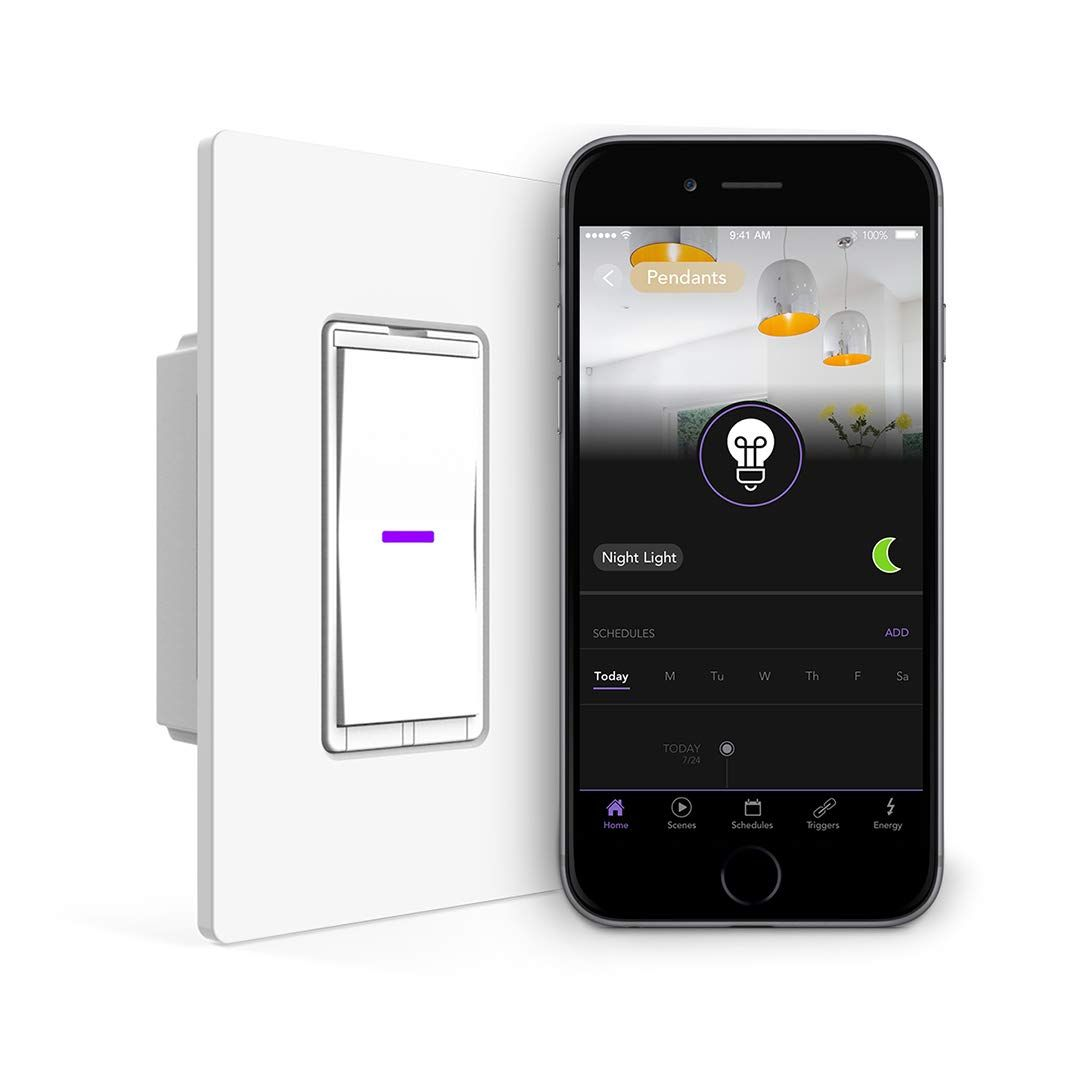iDevices Wall Switch Wifi Smart Light Switch, No Hub