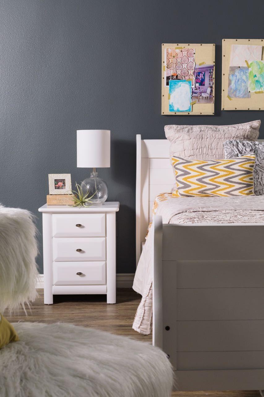 laguna white sleigh bed by trendwood kids nursery pinterest