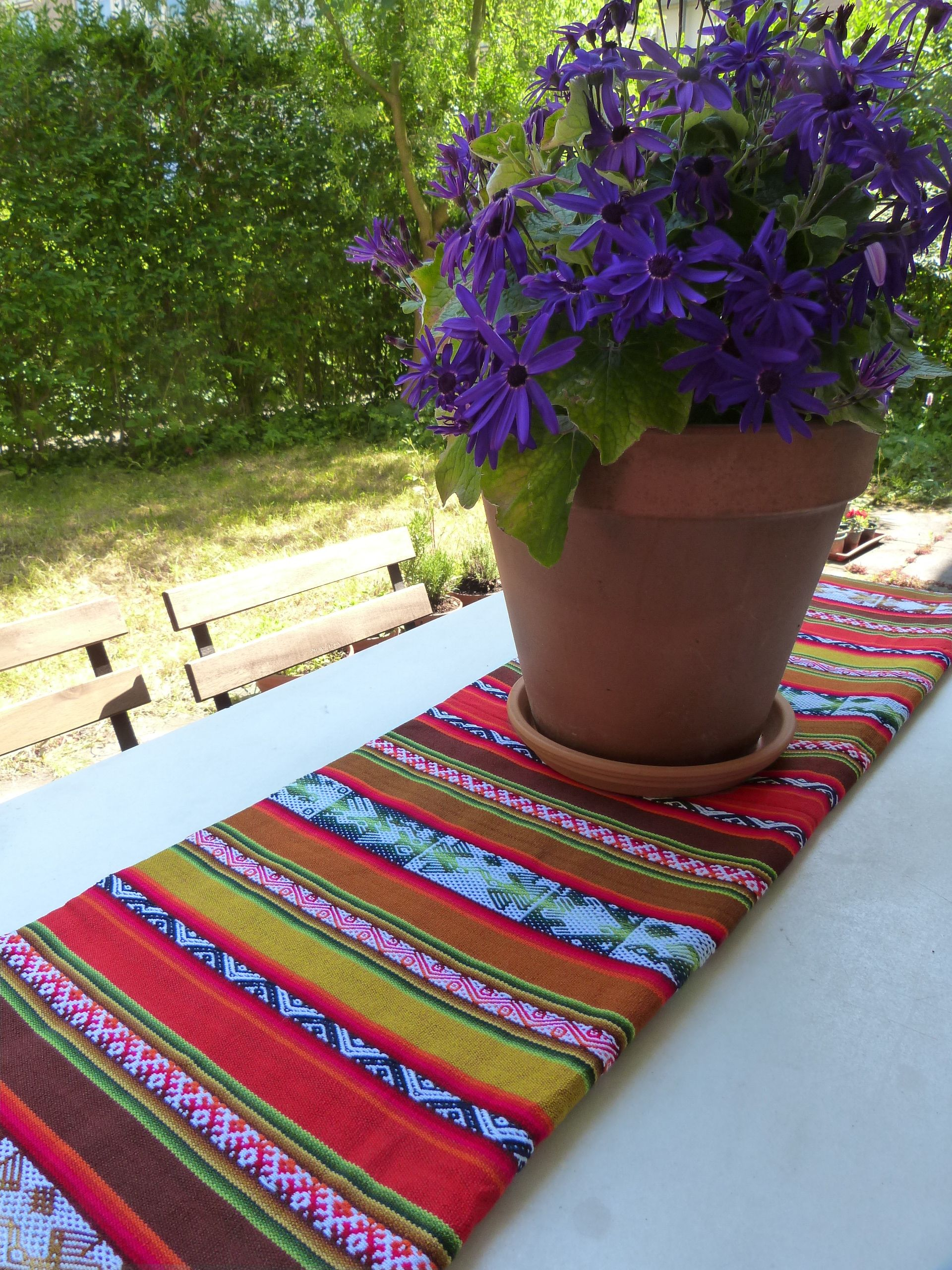Colorful Tablecloth From The Andes Http://www.uitdeandes.nl/product