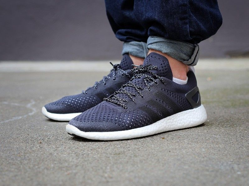 adidas consortium primeknit pure boost black for sale