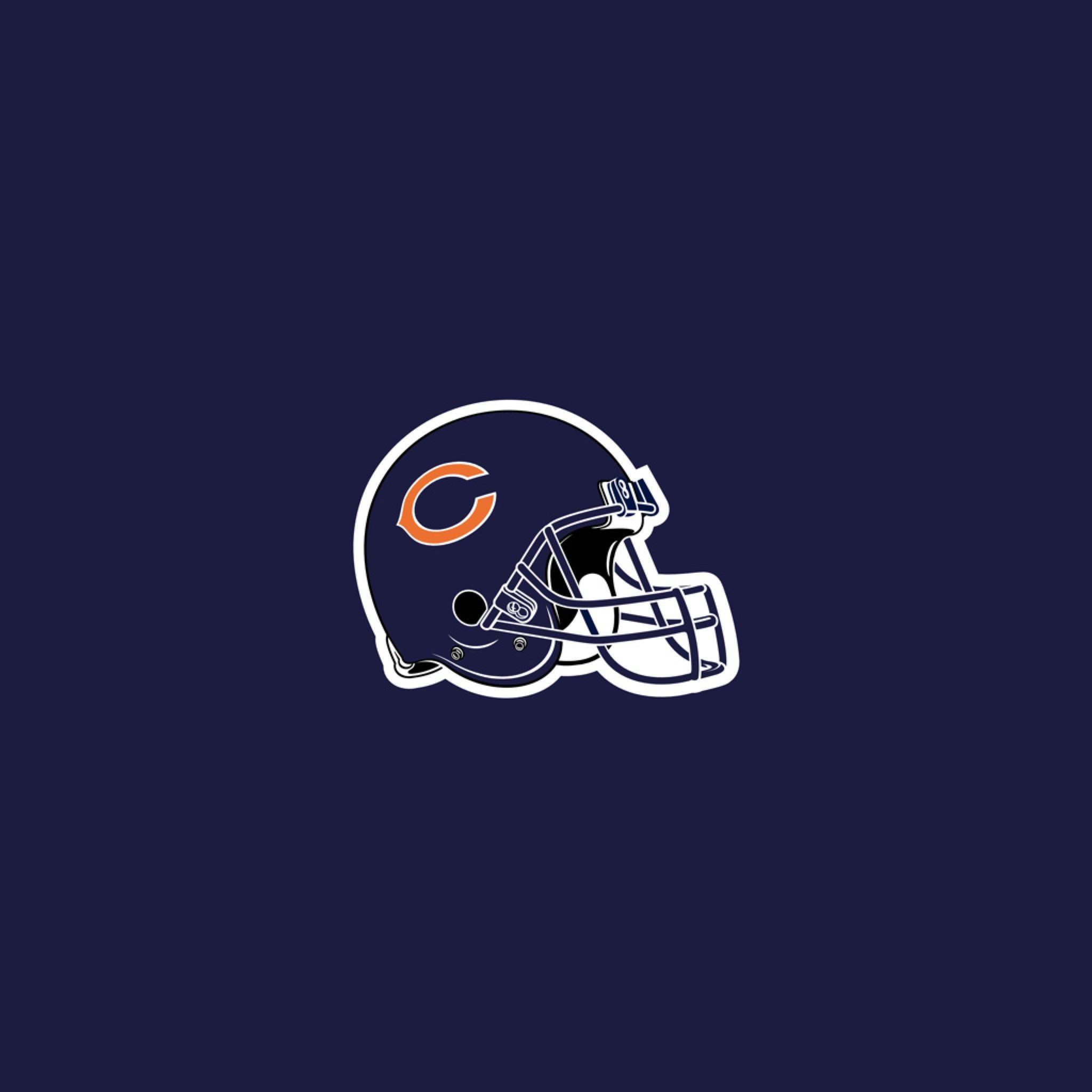 Download Chicago Bears Helmet iPad Wallpaper HD | nfl | Pinterest