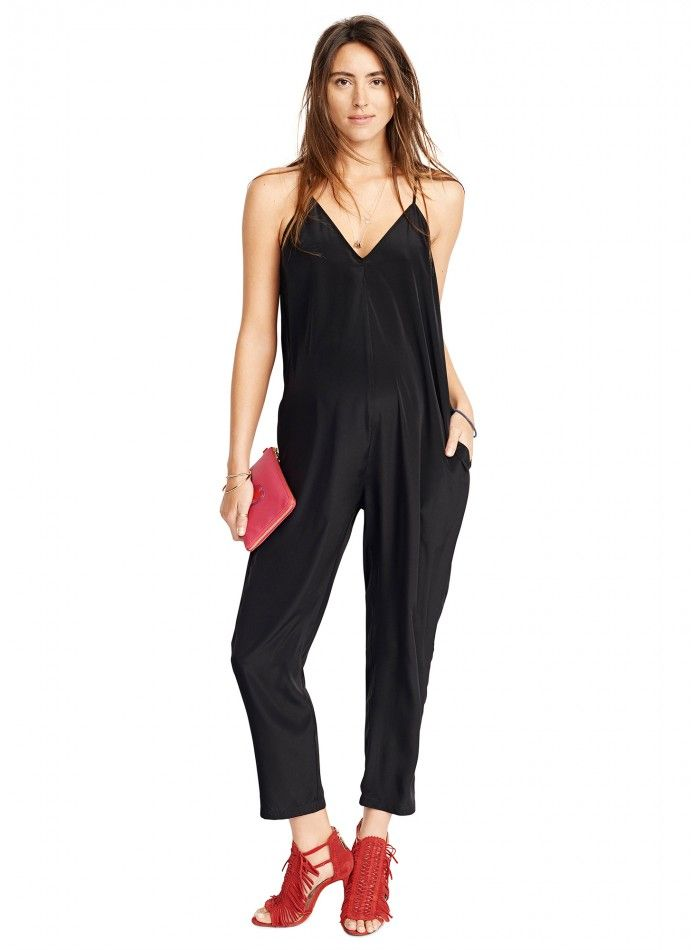 The Racerback jumper | day jumpsuit | silk one-piece