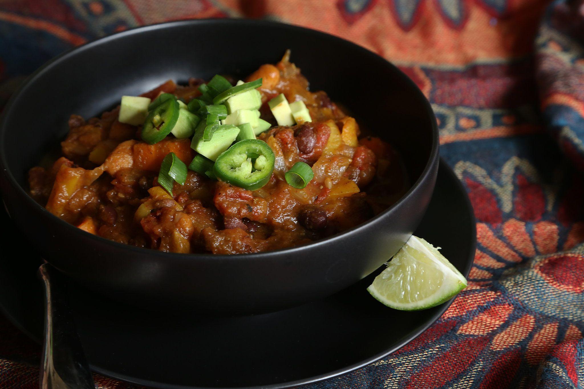 Pumpkin Chili | Rezept | Vegetarisch und Rezepte