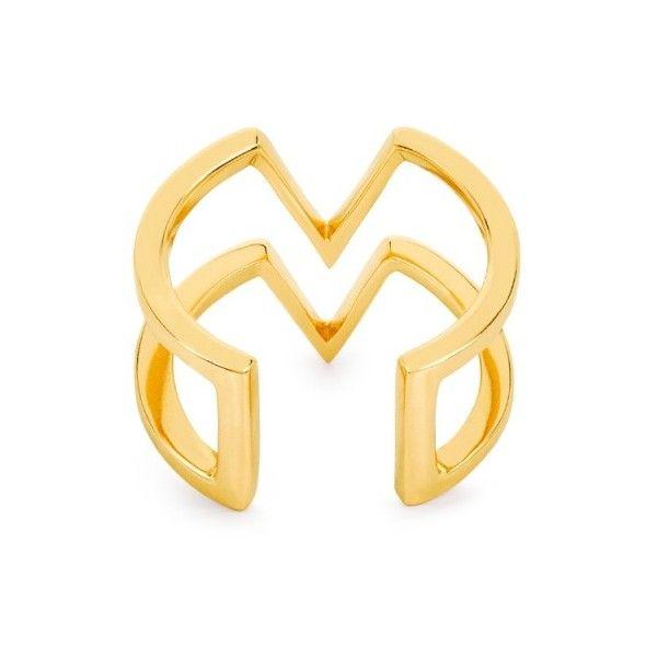 Edge of Ember Myla Arrows Ring Gold acN61Bgq9