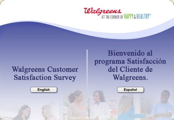 Walgreens Cares Customer Satisfaction Survey WwwWagcaresCom