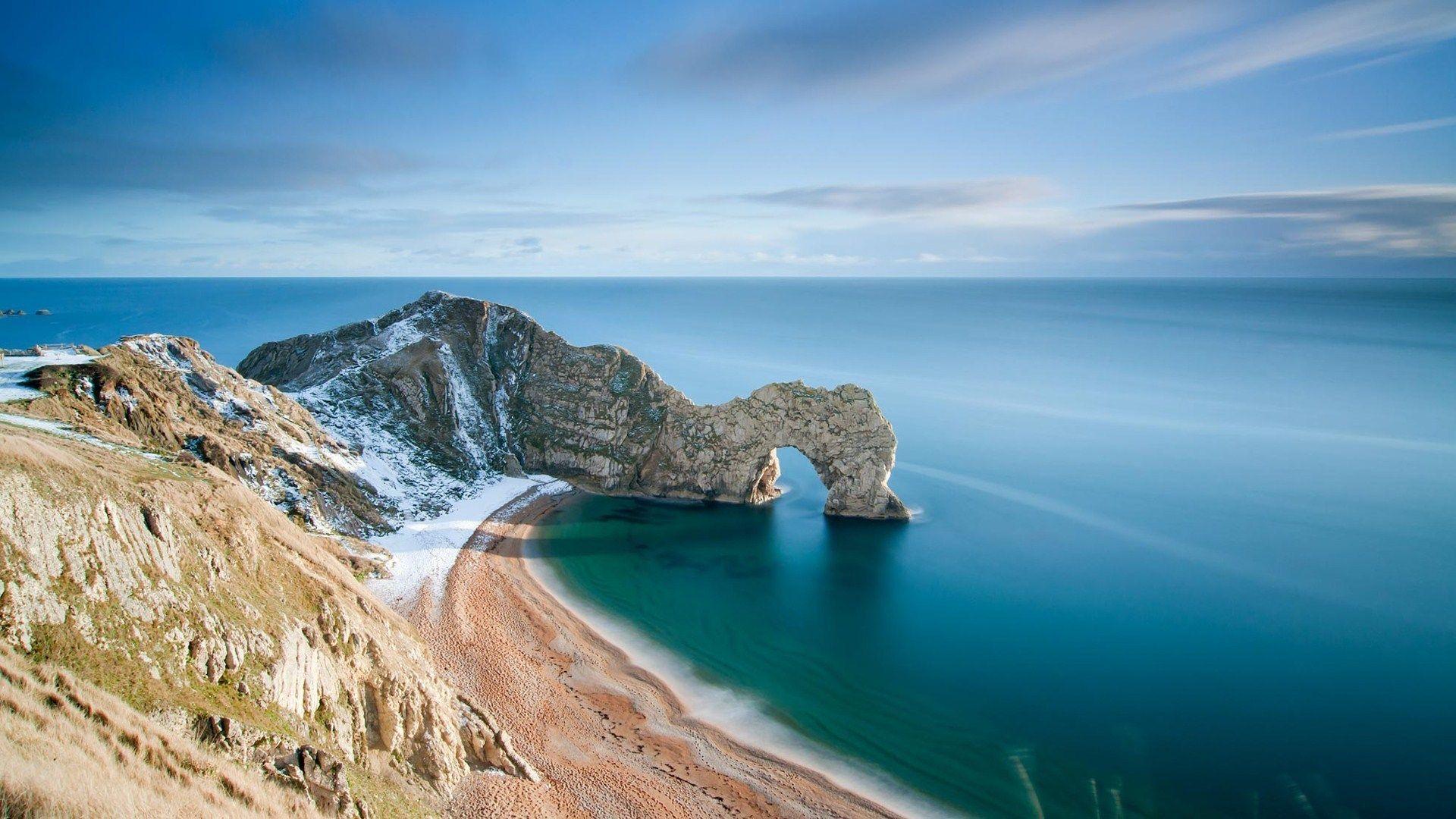 Hq Definition Wallpaper Desktop Durdle Door Beach Landscape Ocean Landscape Sea Photography