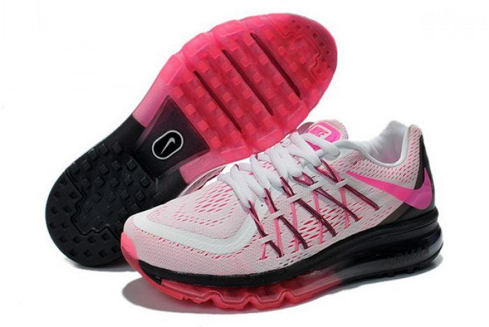 online store 4f62a 6a255 Nike Air Max 2015 Womens White Black Red Shoes