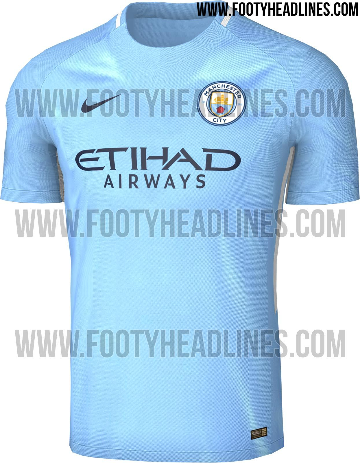 The Manchester City kit introduces a clean, smart look for the Premier  League club. Made by Nike, the Manchester City home shirt was finally  released on May