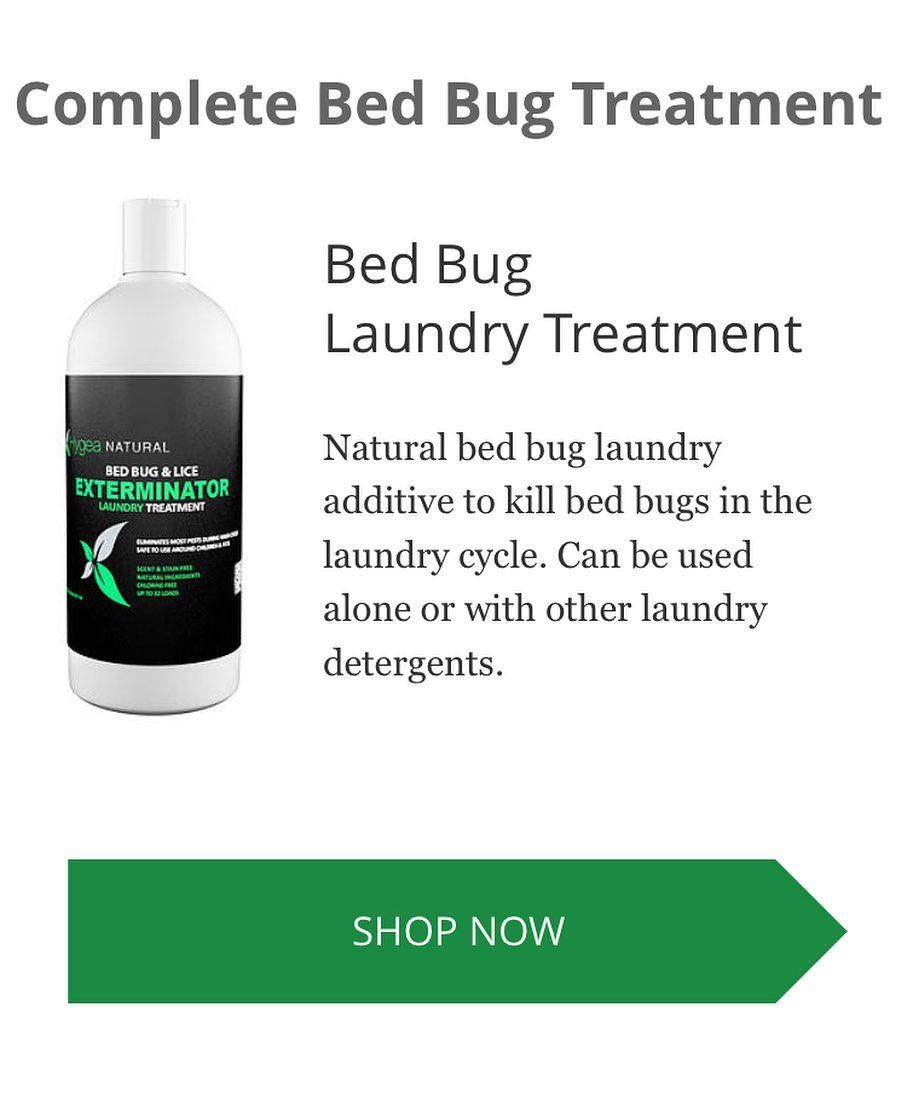 Bed Bug Laundry Additive Can Be Used Alone Or With Your Regular