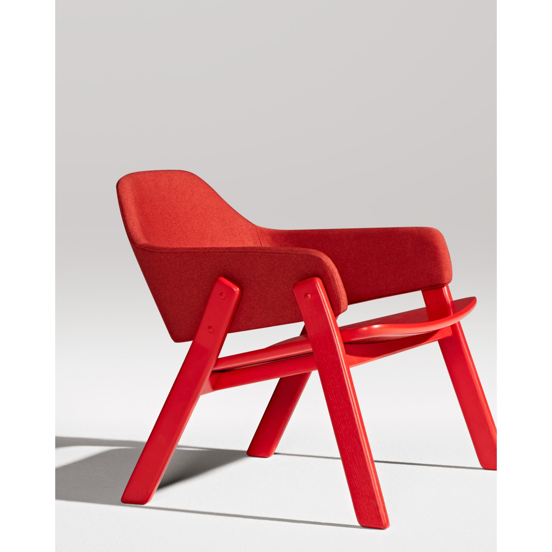 Awe Inspiring Affordable Modern Red Lounge Chair Blu Dot Project Bralicious Painted Fabric Chair Ideas Braliciousco
