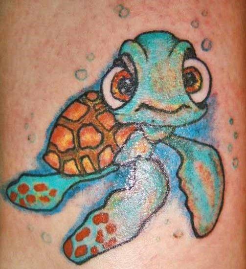 Cartoon Turtle Tattoo Turtle Tattoo Turtle Tattoo Designs