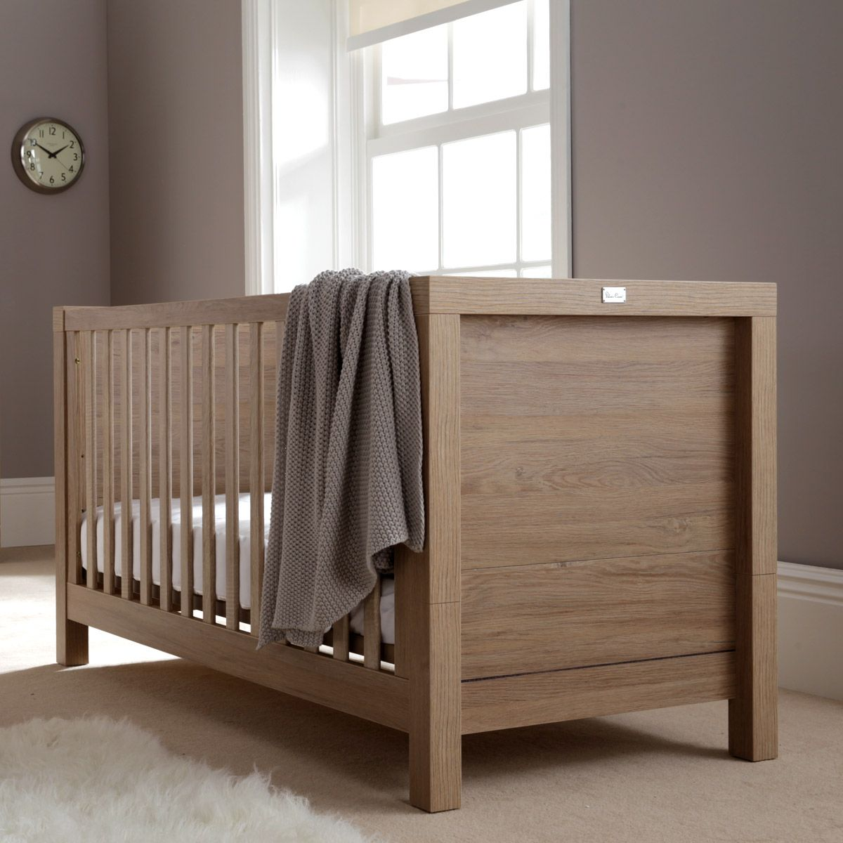The Statement Portobello Cot Bed From Silver Cross This Stylish Has 3 Base Positions And Then Transforms Into A Lovely Toddler