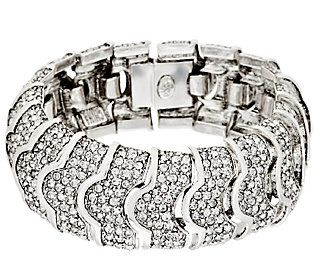 Joan Rivers Pave Crystal Heirloom Bracelet