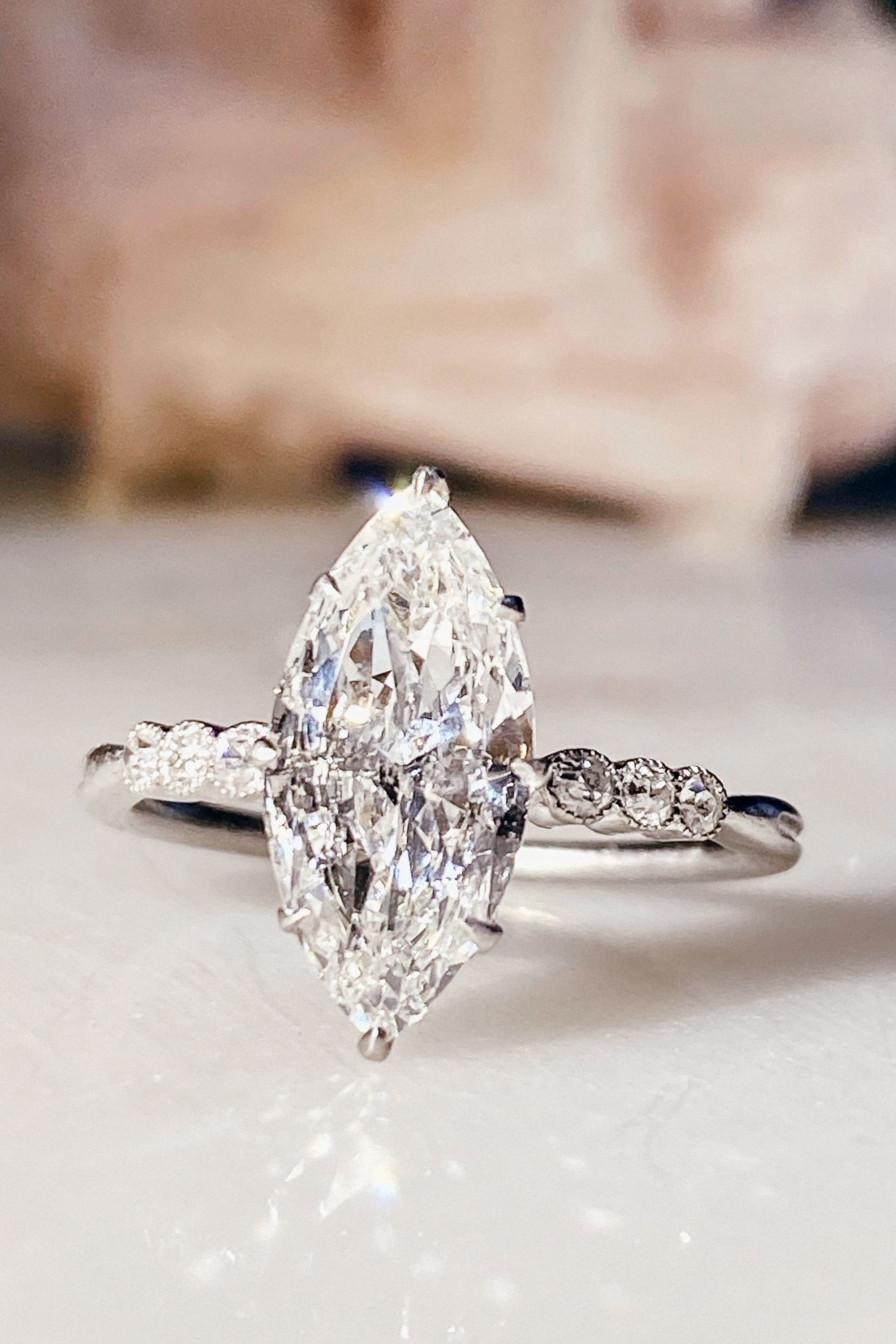 Pin On Marquise Diamond Engagement Rings