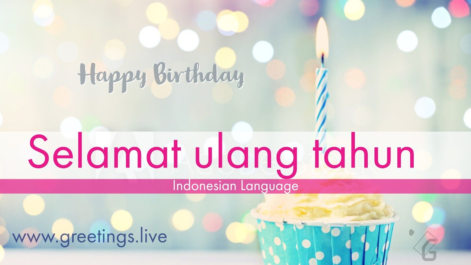 Happy birthday in indonesian language hd greetings pinterest happy birthday wishes in indonesian m4hsunfo