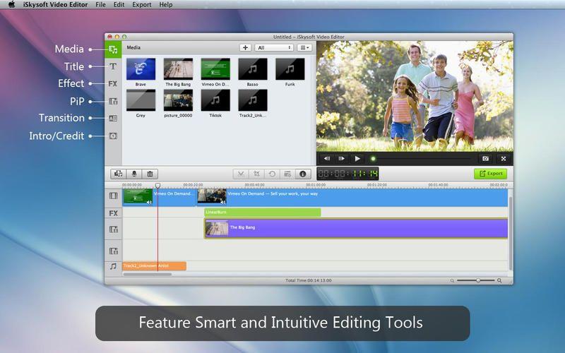 「iSkysoft 動画編集」ディスカウントセール中! ー 多機能なビデオ編集アプリ。買っちゃったので、そのうちレビューします。
