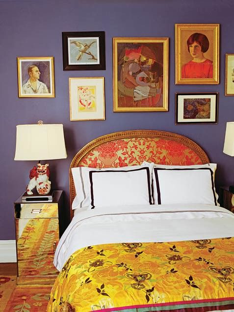 kate spade bedroom complementary colors
