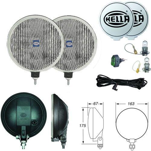 Hella 500 Fog Light Kit Fog Light Switch Mini Kit
