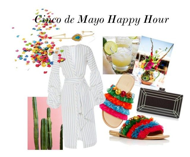 """Cinco de Mayo Happy Hour"" by modaoperandi ❤ liked on Polyvore featuring Stella Jean, Fallon, Edie Parker and Johanna Ortiz"