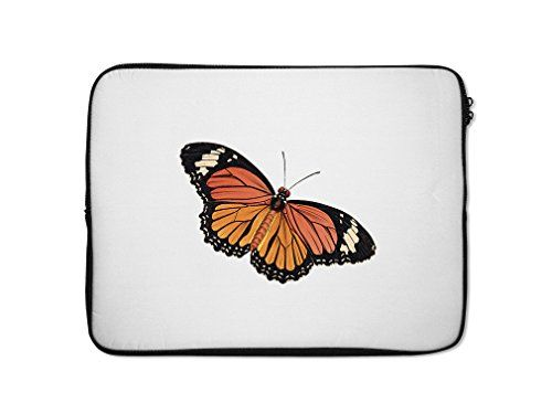 Colorful Butterfly Style 12 Laptop Sleeve Case Bag  7 Inch