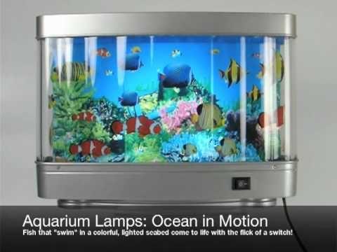 Kids Aquarium Night Light With Revolving Tropical Fish Helpful To Put Your Kid To Sleep At Bedtime With The Soothin Aquarium Lamp Kids Aquarium Kid Room Decor