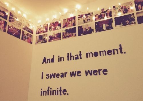 And in that moment…I swear we were infinite | Words | Pinterest ...