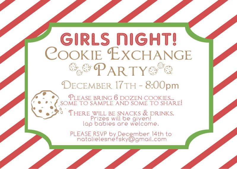 Cookie Exchange Party – My Planning Process – At Home With Natalie ...