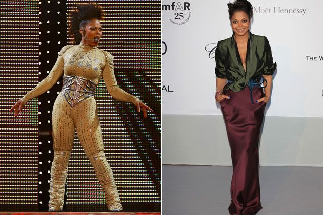 , Pinning for that green and burgundy outfit.  fabulous!!    Janet Jackson Weight Loss, My Pop Star Kda Blog, My Pop Star Kda Blog