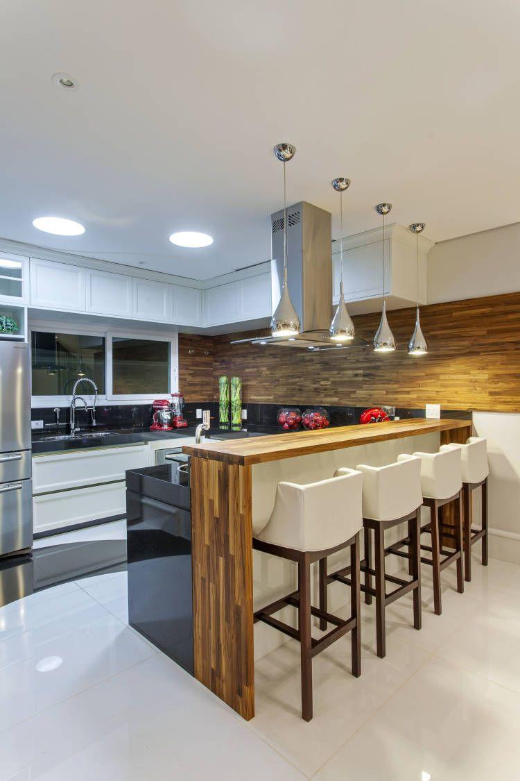 Madeira Teca Na Decora O Veja Ambientes E Dicas Blog De  ~ Lustre Para Cozinha Americana