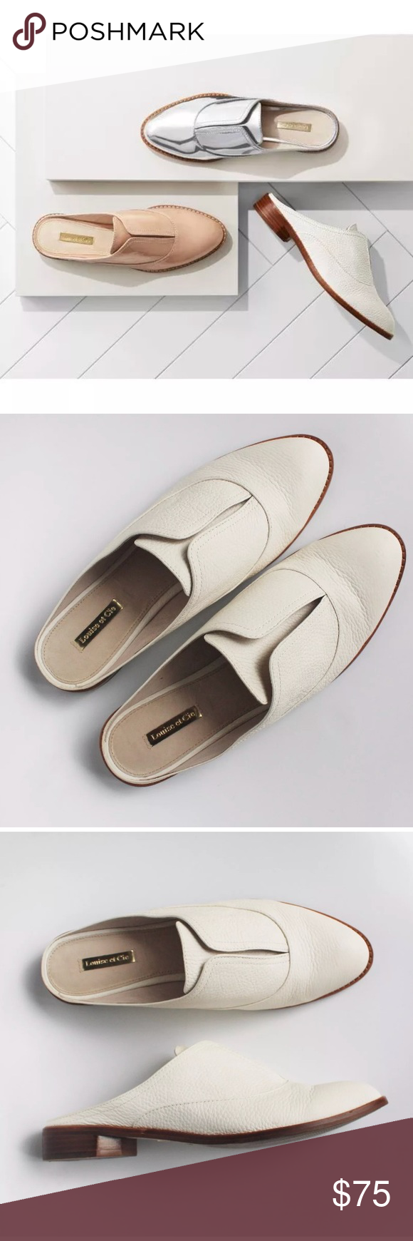 8a21bcf7f53 LOUISE ET CIE FREYDA LOAFER MULES Size 10
