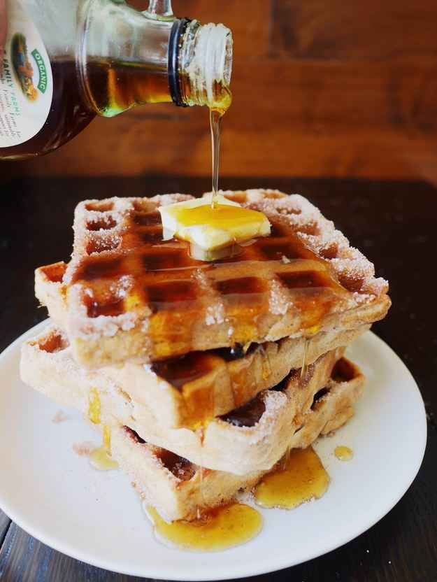 This Easy Trick Makes Your Waffles Taste Like Churros