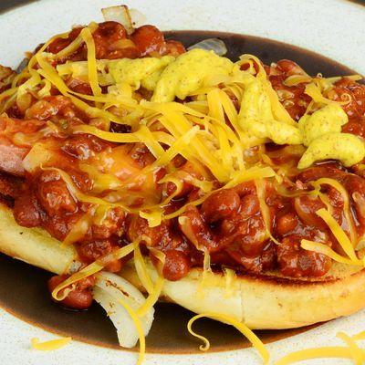 Facile Chili formaggio Hot Dog Ricetta
