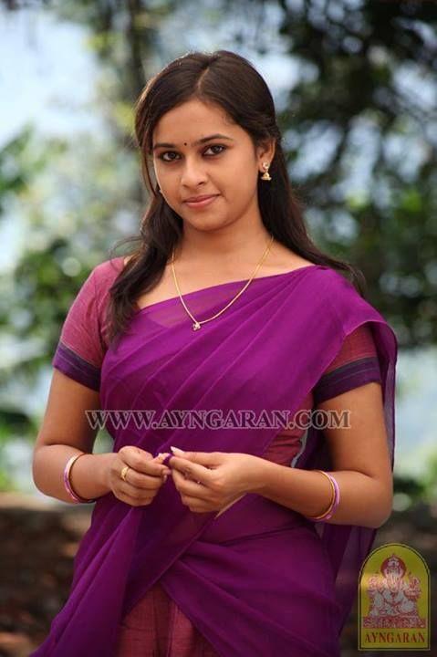 Sri Divya in Half Saree | SRI Divya | Pinterest | Half ...