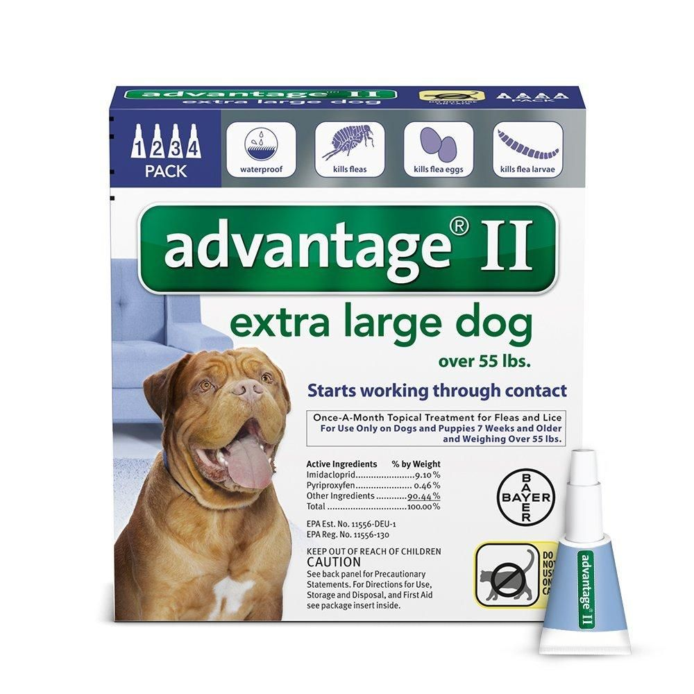 Advantage BLUE1004 Flea Control for Dogs And Puppies